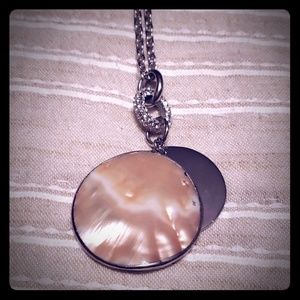 Ann Taylor Mother of Pearl Necklace.